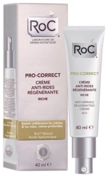 Roc Pro-Correct Rich Krem 40Ml Renksiz